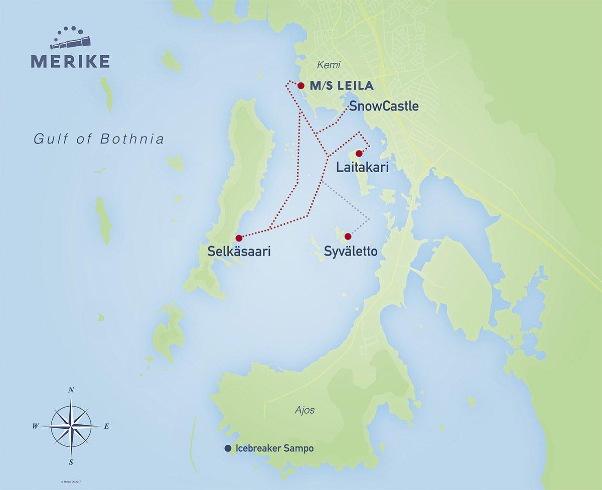 Scheduled Sailings Merike